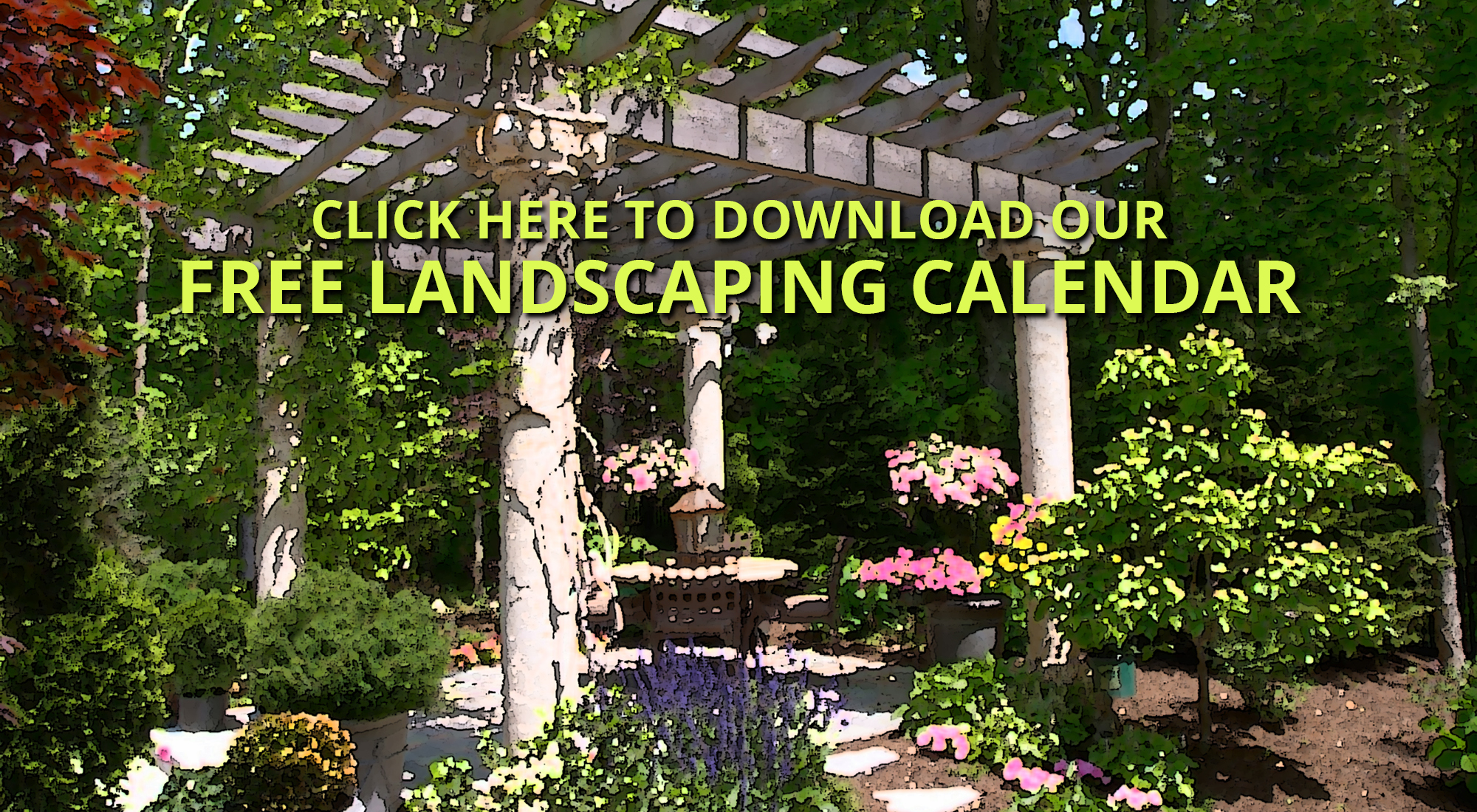 Landscaping Calendar Cover - Engledow Group