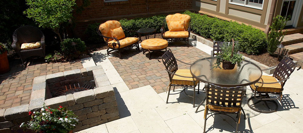 Patio and seating