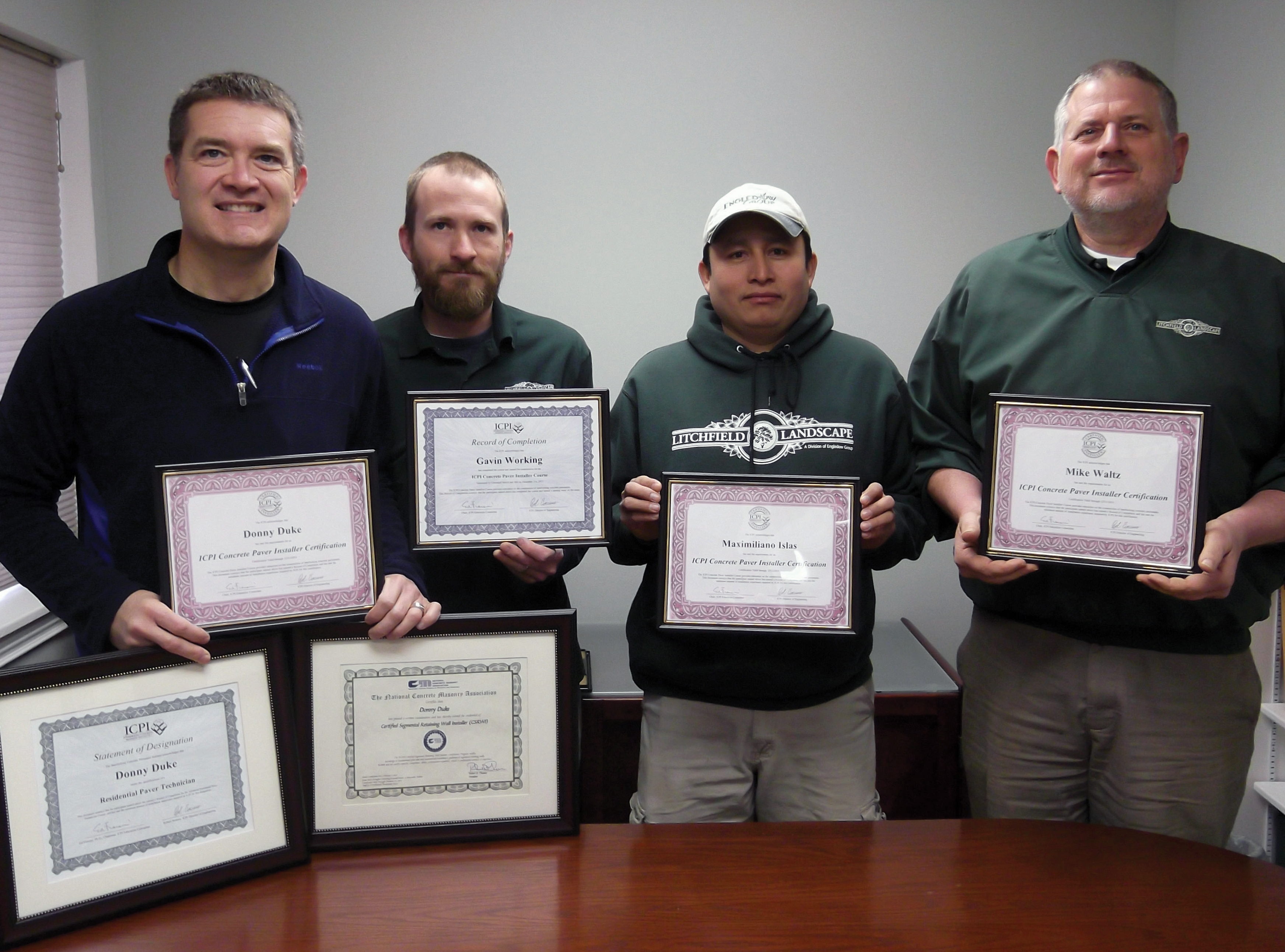 Engledow Estates Leads The Way In Concrete Paver Certifications
