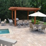 Add beauty and value to your property with patio pavers.