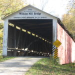 Wilkins Mill Covered Bridge in Parke County Indiana